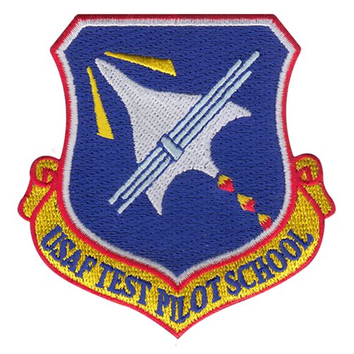 USAF Test Pilot School Graduate Patches Edwards AFB, CA U.S. Air Force Custom Patches