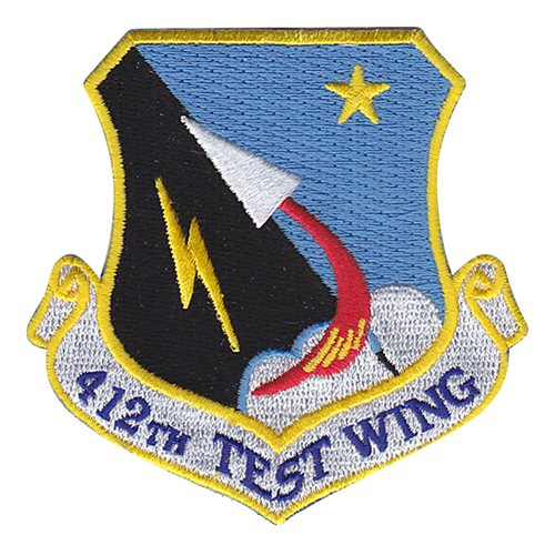 412 TW Edwards AFB, CA U.S. Air Force Custom Patches