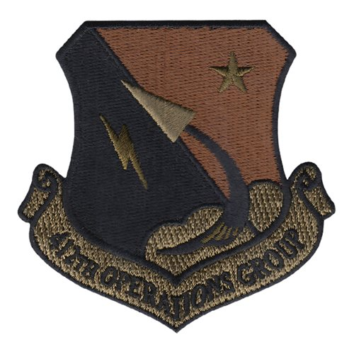 412 OG Edwards AFB, CA U.S. Air Force Custom Patches