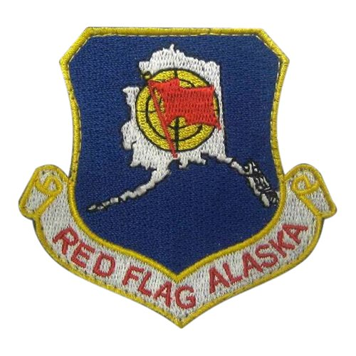 Red Flag Alaska Eielson AFB, AK U.S. Air Force Custom Patches