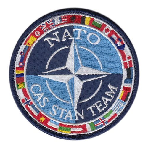 NATO International Custom Patches