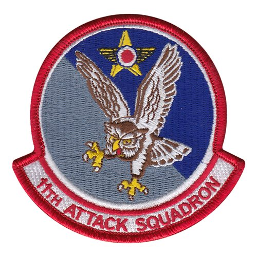 11 ATKS Creech AFB, NV U.S. Air Force Custom Patches