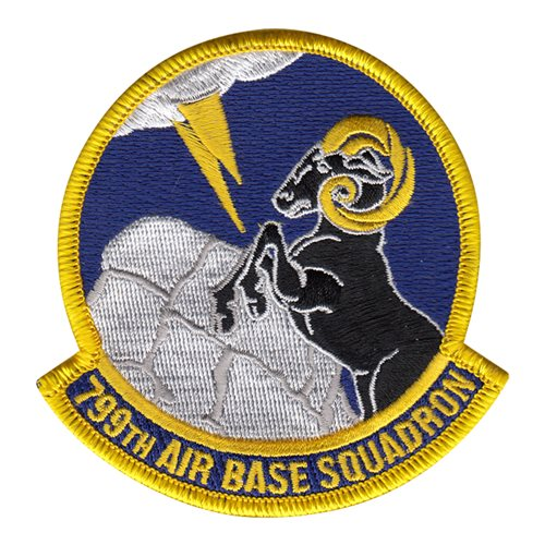 799 ABS Creech AFB, NV U.S. Air Force Custom Patches