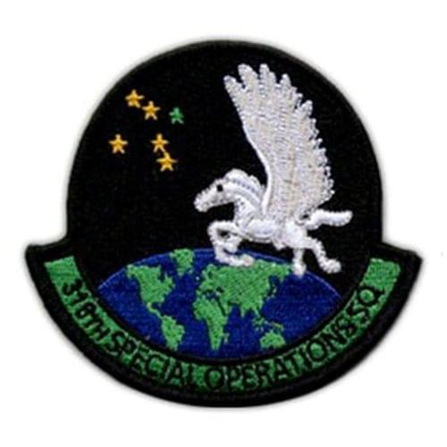 318 SOS Cannon AFB, NM U.S. Air Force Custom Patches