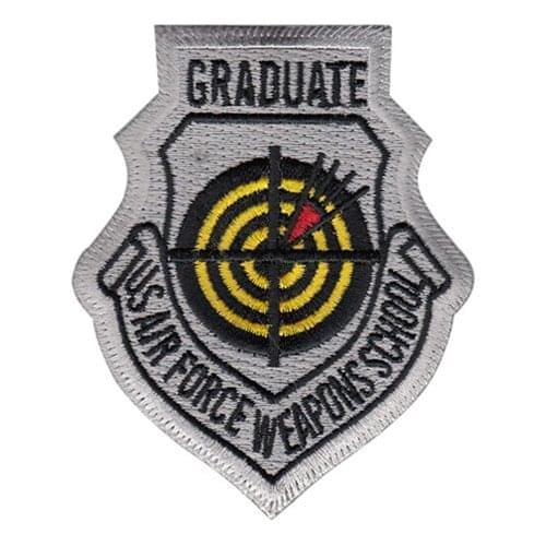 USAF Weapons School Graduate Patches Nellis AFB U.S. Air Force Custom Patches
