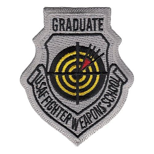USAF Fighter Weapons School Graduate Patches Nellis AFB U.S. Air Force Custom Patches