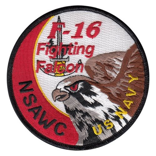 NSAWC NAS Fallon U.S. Navy Custom Patches
