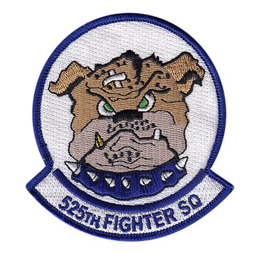 525 FS JBER U.S. Air Force Custom Patches