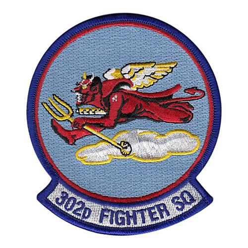 302 FS JBER U.S. Air Force Custom Patches