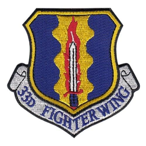 Eglin AFB, FL U.S. Air Force Custom Patches
