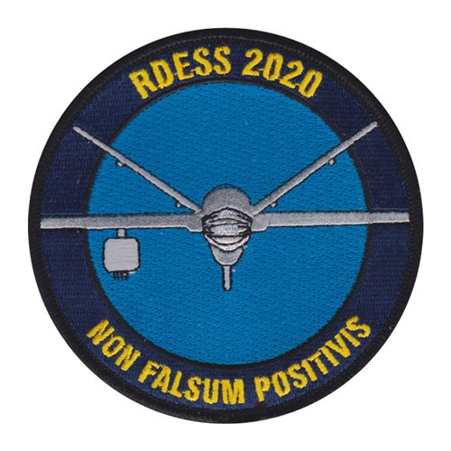 General Atomics Corporate Custom Patches