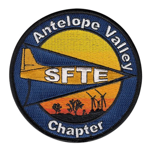 Society of Flight Test Engineers Civilian Custom Patches