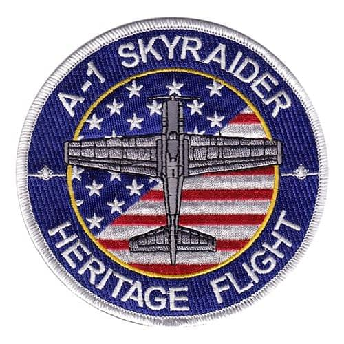 USAF Heritage Flight Air Show Custom Patches