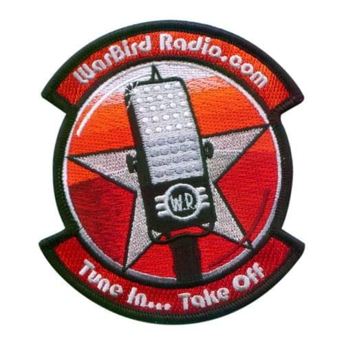 Warbird Radio Air Show Patches Custom Patches