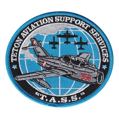 Teton Aviation Air Show Patches Custom Patches