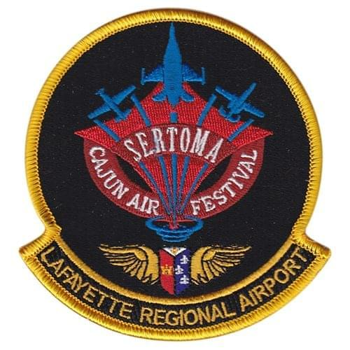 Sertoma Cajun Air Festival Air Show Patches Custom Patches