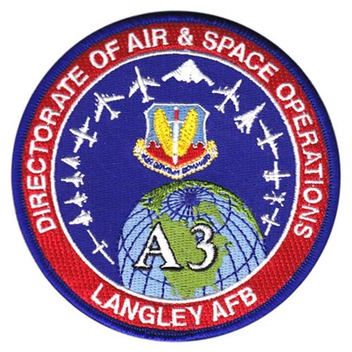 ACC Staff Langley AFB, VA U.S. Air Force Custom Patches