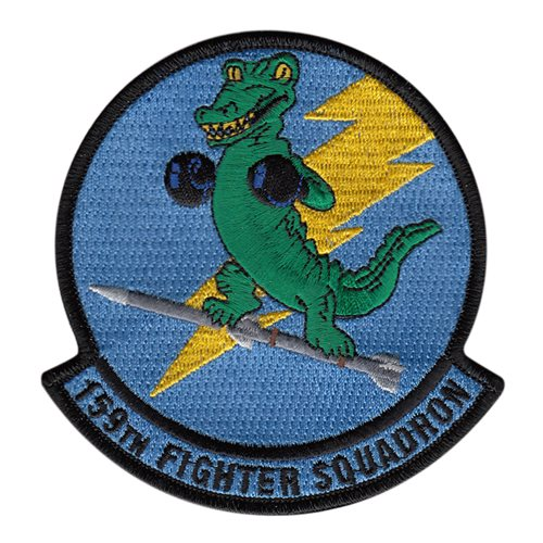 159 FS ANG Florida Air National Guard U.S. Air Force Custom Patches