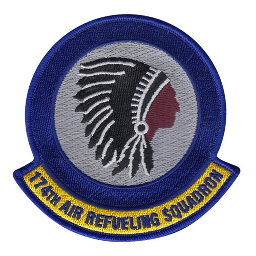 174 ARS ANG Iowa Air National Guard U.S. Air Force Custom Patches
