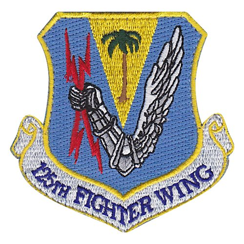 125 FW ANG Florida Air National Guard U.S. Air Force Custom Patches