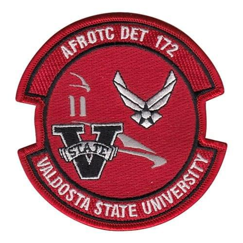 AFROTC Det 172 Valdosta State University Air Force ROTC ROTC and College Patches Custom Patches