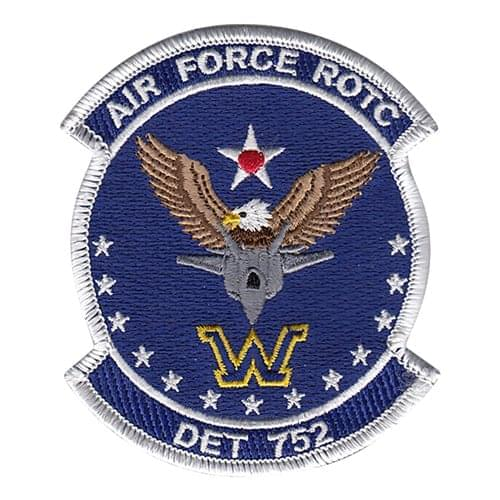 AFROTC Det 752 Wilkes University Air Force ROTC ROTC and College Patches Custom Patches
