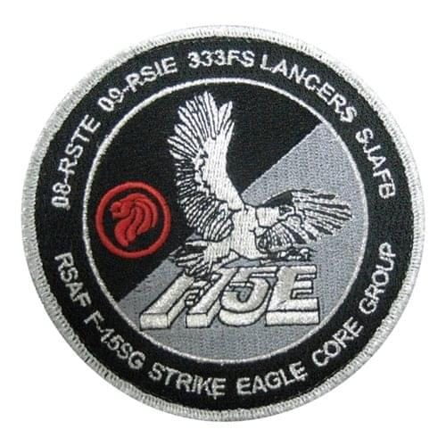 F-15SG Patches Aircraft Custom Patches