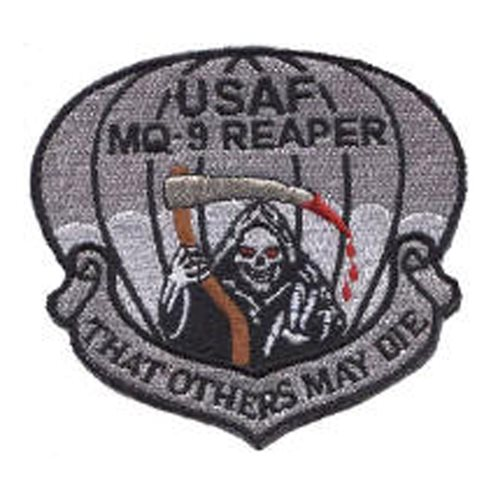 MQ-9 Patches Aircraft Custom Patches