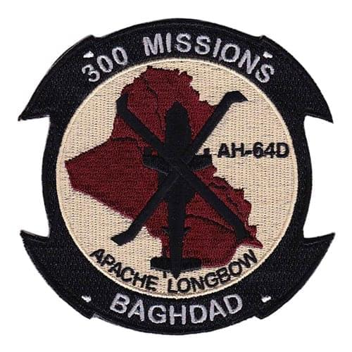 AH-64 Patches Aircraft Custom Patches