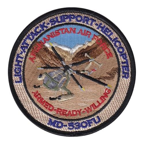 MD-530 Patch Aircraft Custom Patches