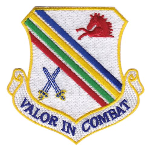 Eielson AFB, AK U.S. Air Force Custom Patches