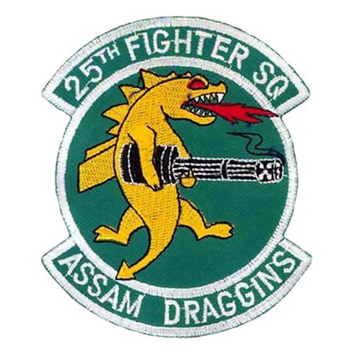 Osan AB, ROK U.S. Air Force Custom Patches