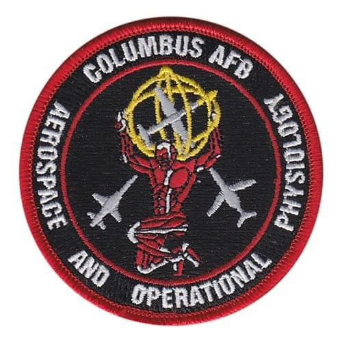 14 MDOS Columbus AFB U.S. Air Force Custom Patches