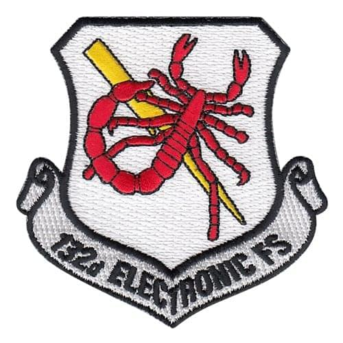 VAQ-132 NAS Whidbey Island U.S. Navy Custom Patches