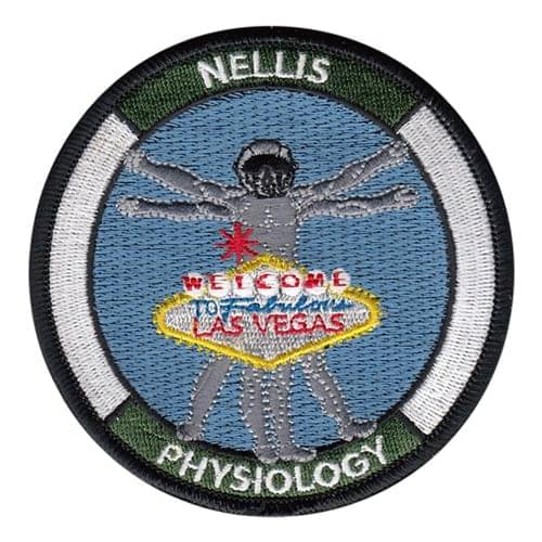 99 AMDS Nellis AFB U.S. Air Force Custom Patches