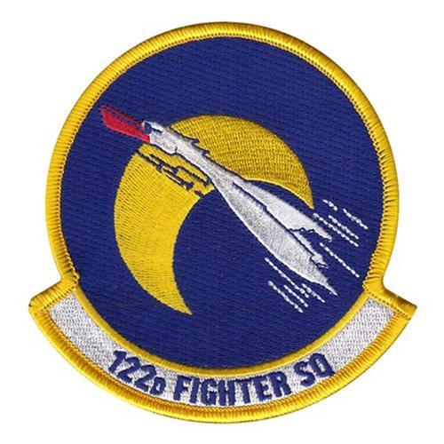 122 FS Air National Guard U.S. Air Force Custom Patches