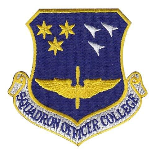Squadron Officer College Maxwell AFB, AL U.S. Air Force Custom Patches