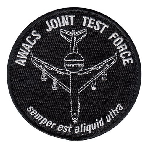 AWACS Joint Test Force JBER U.S. Air Force Custom Patches