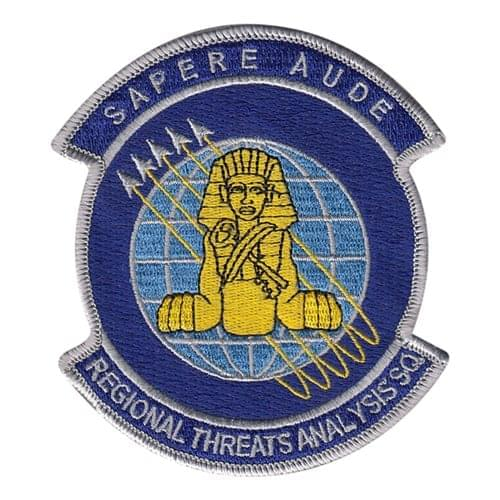 SMRP Regional Threats Wright-Patterson AFB U.S. Air Force Custom Patches