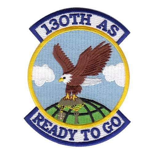 130 AS ANG West Virginia Air National Guard U.S. Air Force Custom Patches