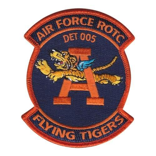 AFROTC Det 005 Auburn University AFROTC College, ROTC, Academy Patches Custom Patches