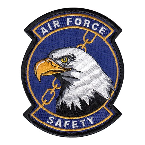 USAF Safety Patch Pentagon U.S. Air Force Custom Patches
