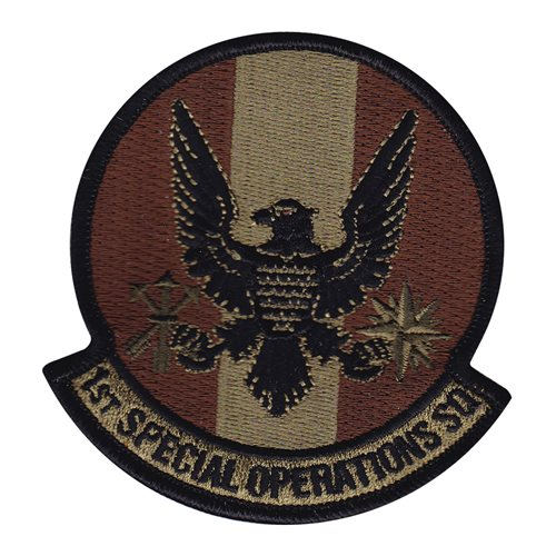 1 SOS Kadena AB, Japan U.S. Air Force Custom Patches