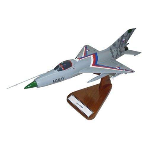 MiG-21 Fishbed Fighter Aircraft Models