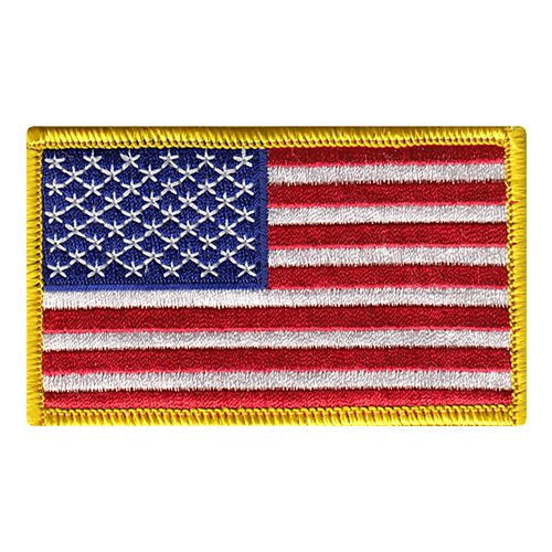 USA Color Flag Patches