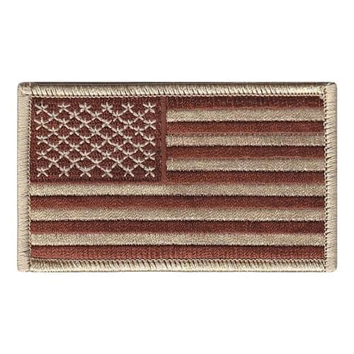 USA Desert Flag Patches