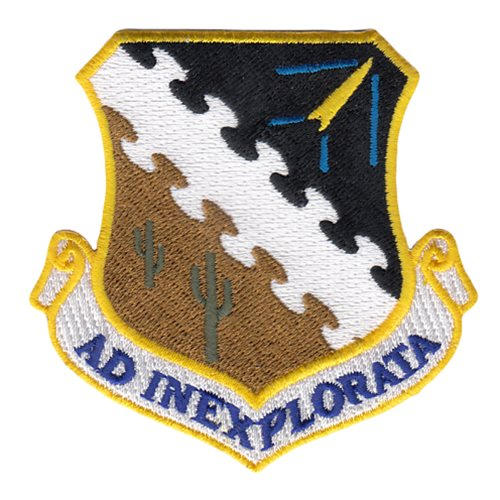 AFTC Edwards AFB, CA U.S. Air Force Custom Patches