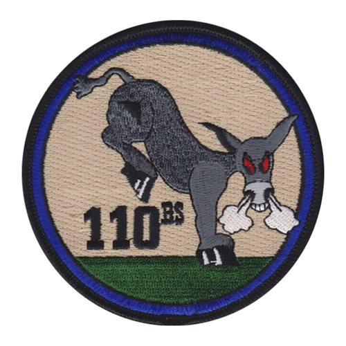 110 BS Whiteman AFB U.S. Air Force Custom Patches