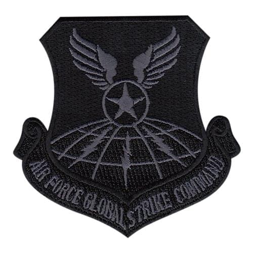 AFGSC Whiteman AFB U.S. Air Force Custom Patches