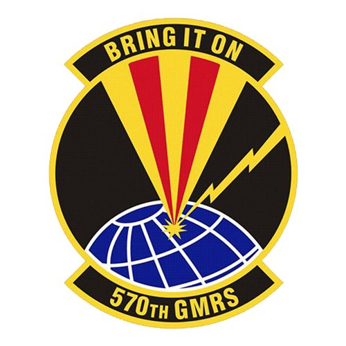 570 GMRS Travis AFB U.S. Air Force Custom Patches